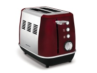 Morphy Richards Toaster 2 Slice Stainless Steel Red 900W Photo