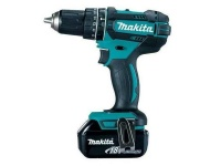 Makita 18V Cordless Driver Drill & 2 x Battery Photo