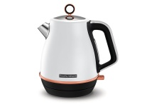 Morphy Richards 360 Degree Cordless Stainless Steel White Rose Gold 1.5L Kettle Photo