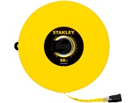 Stanley Fiberglass Blade Long Tape Rules 50m Photo