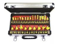 Tork Craft 24-Piece Router Bit Set Aluminium Case 1/4 Photo