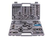 Tork Craft 44-Piece Tap And Die Set 3-12mm Hss In Metal Case Photo