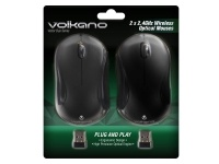 Volkano Vector Duo Pack of 2 Vector Wireless Mouse - Black Photo