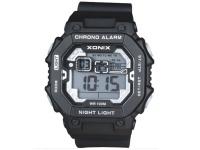 Xonix Gents Digital Watch Black Chrono 100M Photo