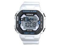 Xonix Gents Digital Watch White Chrono 100M Photo