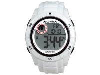 Xonix Mens Digital Wrist Watch - White Photo