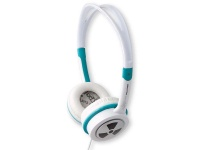 Zagg iFrogz Toxix On-Ear Headphones - Teal Photo