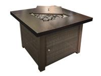 Alva Gas Fire Table Photo