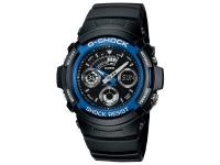 Casio G-Shock Black with Blue Face Wrist Watch Photo