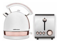 Mellerware Pack 2 Piece Set Stainless Steel Kettle And Toaster Photo