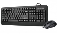 Astrum KC120 Wired Keyboard Mouse Set USB 2.0 Photo
