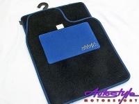 Autostyle Blue Padded Car Mats Photo