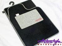 Autostyle Silver Grey Padded Car Mats Photo