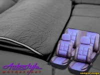 Car Seat Covers in Leather PU Finish Photo