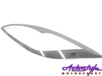 Carbon Look Headlight Guard To Fit Mazda 6 08 Photo