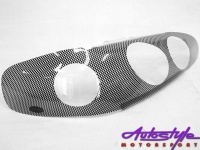 Carbon Look Headlight Guard To Fit Toyota Camry 91-01 Photo