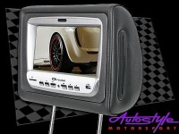 "ICE Power Headrest 8"" Screens with DVD Player & FM Photo"