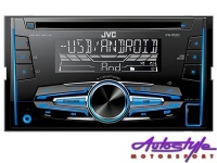 JVC KW-R520 Double Din CD/MP3 with USB Photo