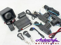 Central Locking kit with Alarm System Photo