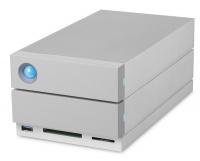 Seagate LaCie 2Big Dock 16TB Thunderbolt 3 External Drive USB DP CF SD Photo