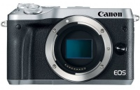 Canon EOS M6 Silver 24.2 MegaPixel Digital Camera - Body Only Photo