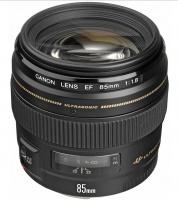 Canon EF 85 mm f 1.8 USM camera lens Photo