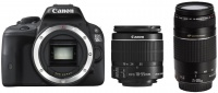 Canon EOS 4000D 18 MegaPixel Digital Camera with EF-S 18-55mm f/3.5-5.6 3 Lens Photo