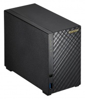 Asustor Tower 2 bay NAS Celeron 1.6GHZ 2GB RAM 2x LAN Photo