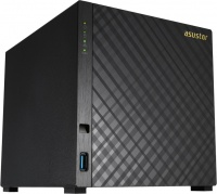 Asustor Tower 4 bay NAS Celeron 1.6GHz 2GB RAM 2x GbE Photo