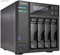 Asustor AS-6204T 4-Bay Celeron 1.6GHz Quad-Core Network Attached Drive Photo