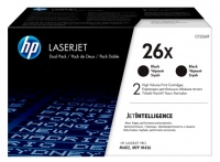 HP CF226XD no.26X high yield black toner cartridge Dual Pack 9000 pages Photo