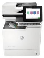 HP Color LaserJet A4 Enterprise Multifunction MFP M681dh 3in1 Laser Printer 1200 x 1200dpi Print Copy Flatbed Scan Duplex ADF USB LAN Photo