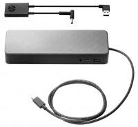 HP USB-C Universal Dock 4.5mm and USB Dock Adapter Bundle SA Photo