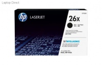 HP 26X High Yield Black Original LaserJet Toner Cartridge Photo