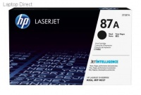 HP 87A Black Original LaserJet Toner Cartridge Photo