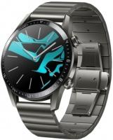 "Huawei GT 2 Elite 46mm 1.39"" Titanium Grey metal strap / stainless steel Smart watch Photo"