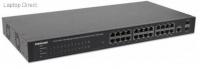 Intellinet 24-Port Gigabit Ethernet PoE Web-Managed Switch with 2 SFP Ports Photo