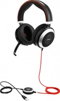 Jabra EVOLVE-80 Stereo Wired USB Headset with 3.5mm jack Photo