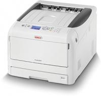 OKI PRO8432WT A3 White Toner Printer LAN Photo