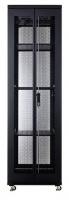 Linkbasic 42U 1M Deep Cabinet 4 Fans 3 Shelves & Perforated Steel Doors Photo