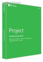 Microsoft Project 2016 Professional - retail pack - DVD Photo