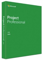 Microsoft Project 2019 Professional 1 User License - Retail Photo