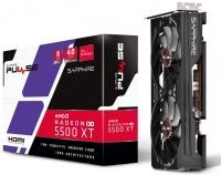 Sapphire rX-5500XT Pulse Edition 8Gb GDDR6 128bit Graphics Card Photo