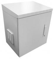 Scoop 12U 450mm Deep IP65 Outdoor Cabinet with 2 fans Photo