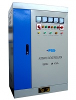 PSS AVS SBW 10KVA 3 Phase Automatic Voltage Stabiliser Servo-Motor Technology Photo