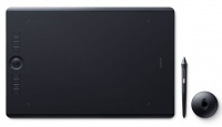 Wacom Intuos Pro L Large Tablet Black Multitouch with Pro Pen 2 Stylus Photo