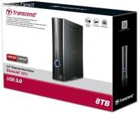 "Transcend StoreJet 8TB 3.5"" Aluminum Turbo External SATA HDD Photo"