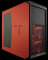 Corsair Graphite Series 230T Rebel Orange Mid-Tower Gaming Case / CC-9011038-WW PC case Photo
