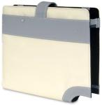 """Choiix C-ND01-WS Ez-Fit white 10"""" netbook sleeve (ABSA Spec Photo"""
