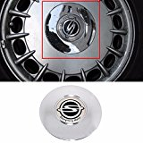 Unbranded Chrome Center Wheel Hub Cap Cover for 2001-2003 Ssangyong Chairman OEM Parts Photo